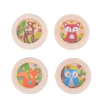 Bigjigs Toys Woodland Ball Games (Pack of 4) - Mini Puzzles