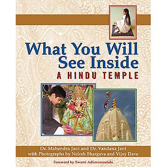 What You Will See Inside a Hindu Temple by Mahendra Jani - Vandana Ja