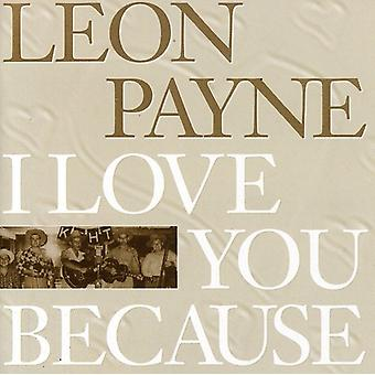 Leon Payne - ich liebe Sie weil [CD] USA import