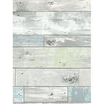 NuWallpaper Beachwood Peel and Stick Wallpaper Fine Decor NU1647 5.5m