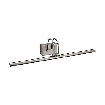 Firstlight - LED Picture Light Brushed Steel - 8326BS