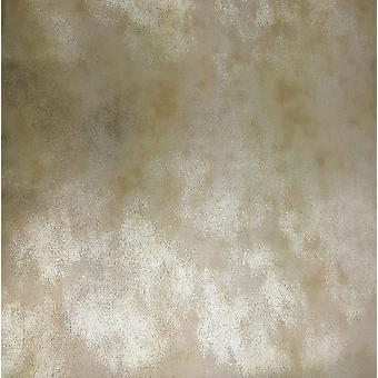 Silver Metallic Wallpaper Industrial Distressed Glitter Foil Vinyl Muriva Esme