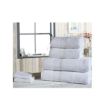 Royal Velvet 6 Piece Towel Bale White