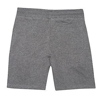 Infant Boys Franklin And Marshall Badge Logo Sweat Shorts In Charcoal-