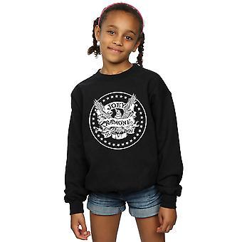 Joey Ramone Girls Anniversary Crest Sweatshirt