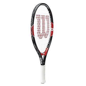 Wilson Federer Junior tennis racket Racquet svart/rød-23