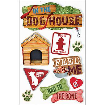 Pet 3 D Stickers Dog Stdm0018