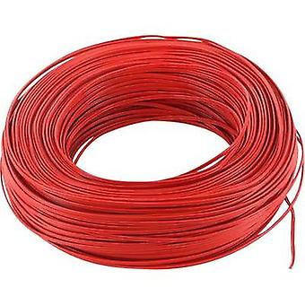 Strand 2 x 0.14 mm² Red BELI-BECO L218/100