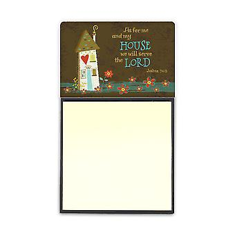 As For Me And My House Sticky Note Holder VHA3005SN