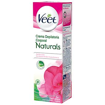 Veet Naturals Hair Remover Cream 200 Ml (Woman , Esthetics , Hair removal , Waxes)