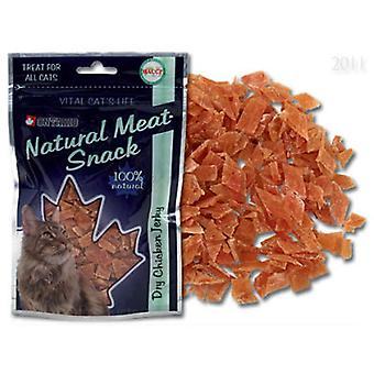 Ontario Chicken dry Jerky Snack for cat 70g (Katzen , Snacks , Organisch)