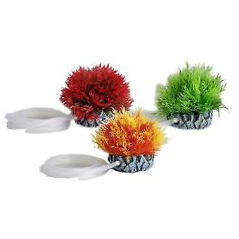 Karlie Flamingo Aquarium Plants With Air Outlet, Assort. Plastic