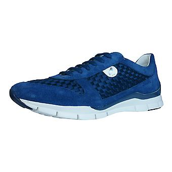 Geox D Sukie A Womens Trainers / Shoes - Denim Blue