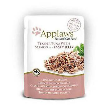 Applaws Jelly Cat Pouch Tuna / salmon (Chats , Nourriture , Pâté)
