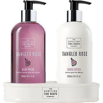Scottish Fine Soaps Tangled Rose Hand Care Set