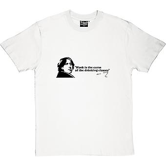 Oscar Wilde boire Classes devis T-Shirt homme