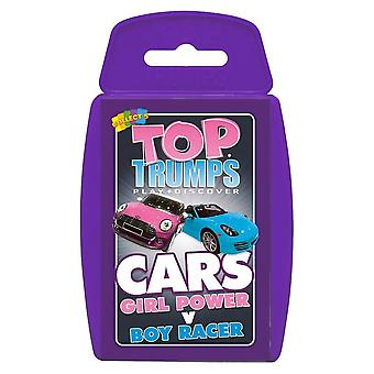 Top Trumps-Girl-Power V Boy Racer