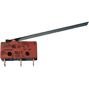 Microswitch 250 Vac 2.5 A 1 x On/(On) Saia Saia IP40 momentary 1 pc(s)