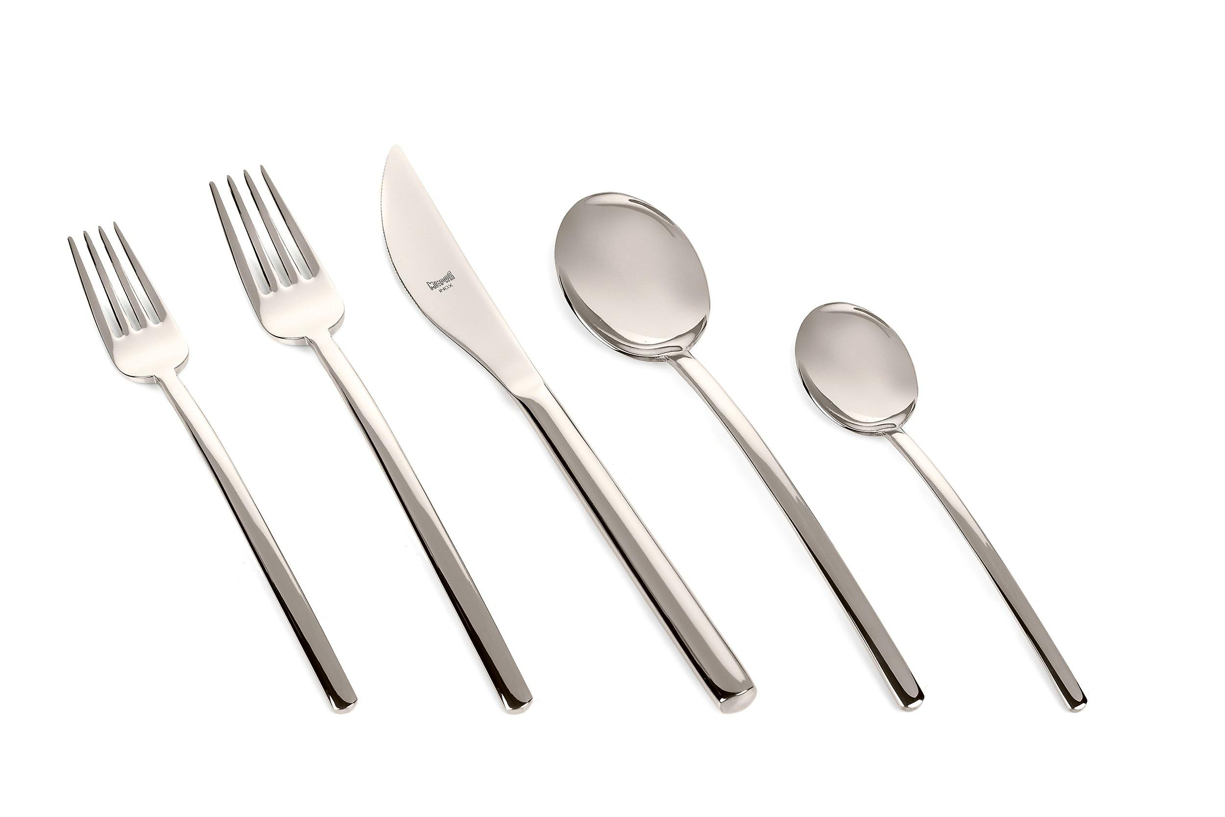 Mepra Due Champagne 5 pcs flatware set