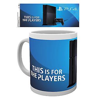 Kubek konsoli PlayStation