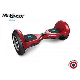 hoverboard spinboard © x cross extreme red