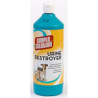 Simpel opklaring urin Destroyer 1ltr