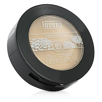 Lavera 2 In 1 Compact Foundation - # 01 Ivory 10g/0.3oz