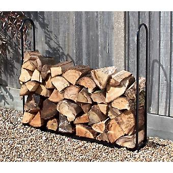 1m Wood Log Store Outdoor Garden Fire Log Storage Unit