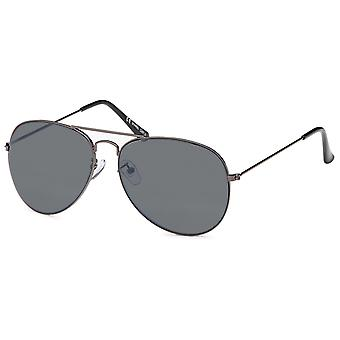 Bling metal sunglasses - pilot anthracite / grey