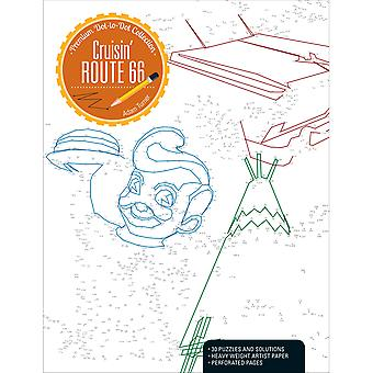 Kalmbach Publishing Books-Cruisin' Route 66 Dot-To-Dot KBP-04282