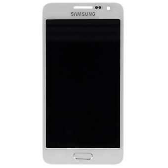 LCD Volledige touchscreen White voor Samsung Galaxy A3 A300 A300F