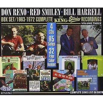 Reno, Don/Smiley, Red/Harrell, Bill - 1963-1972 Complete King Starday Recordings: 3 (Wb) [CD] USA import