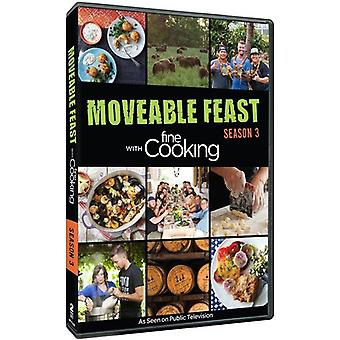 Moveable Feast mit Fine Cooking: Season 3 [DVD] USA Import