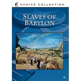 Slaves of Babylon [DVD] USA import