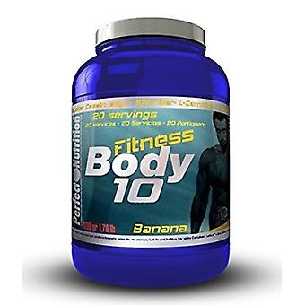 Perfect Nutrition 10 Banana Body Fitness (Sport , Proteine)