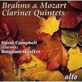 J. Brahms - Brahms & Mozart: Clarinet Quintets [CD] USA import