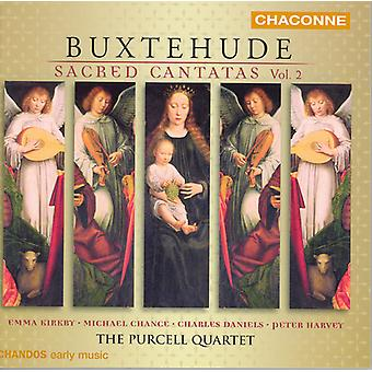 D. Buxtehude - Buxtehude: Cantate sacre, importazione USA Vol. 2 [CD]