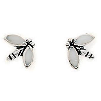 925 Silver Earring Bee