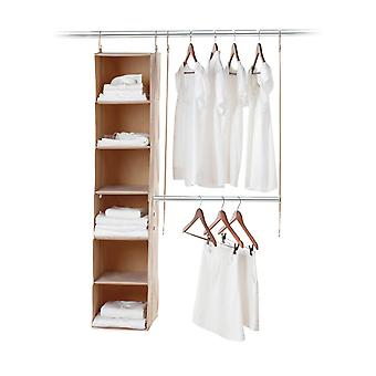 Neatfreak Closet System 2 Piece Kit (Beige)