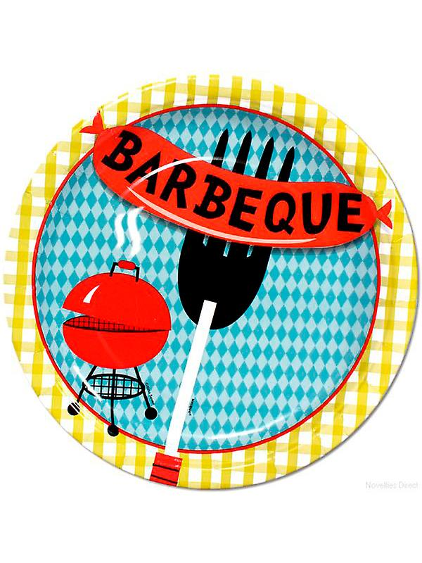 Grill Cookout plater
