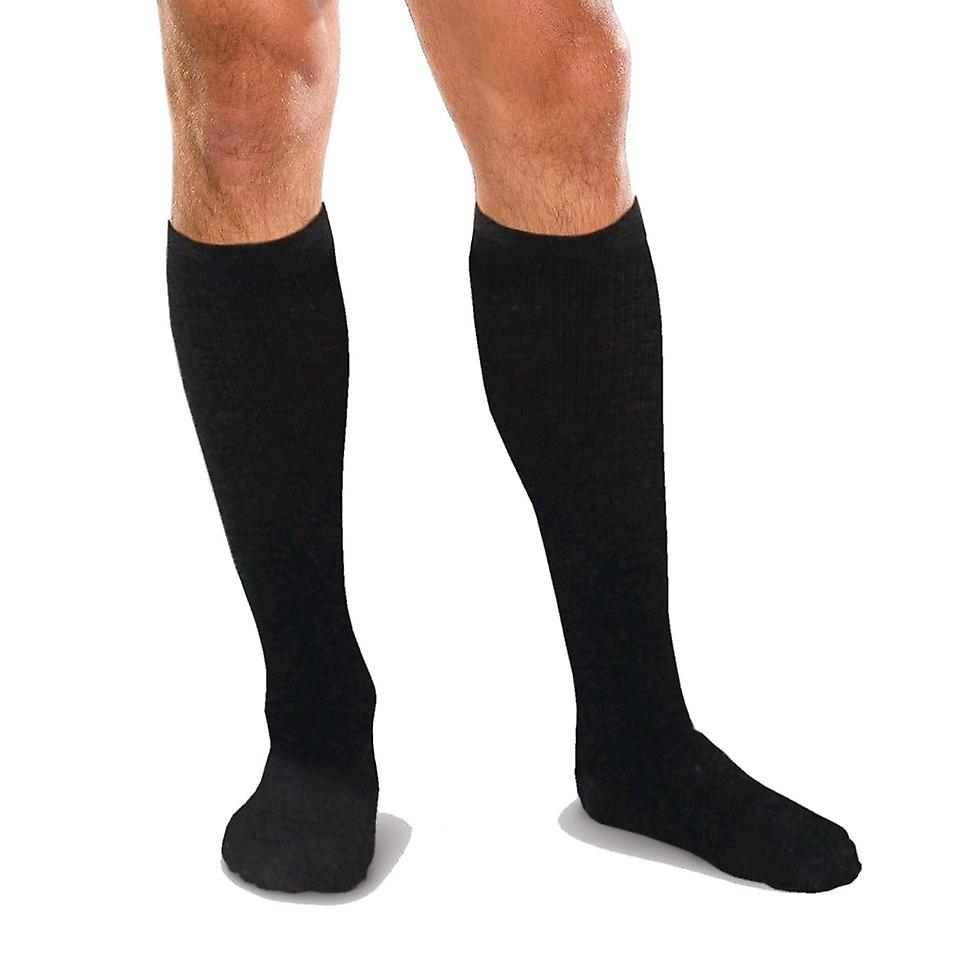 Therafirm Core Spun Unisex Support Socks [Style AC12] Navy  S