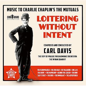 Davis / City af Prag Philharmonic Orchestra - Loitering uden hensigt - musik til Charlie Chapli [CD] USA import