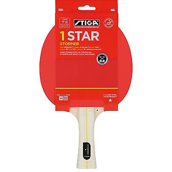 Stiga 1 Star Stormer Table Tennis Bat