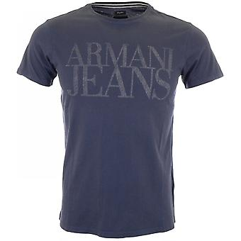 Armani Jeans A6h11 Regular Fit Blue T-shirt