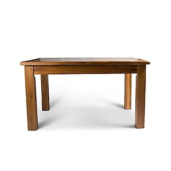 Direct Home Living Large Oak Extending Dining Table
