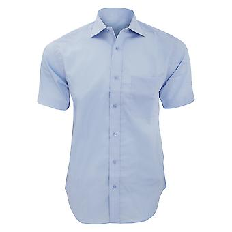 Kustom Kit Mens Premium Non Iron Short Sleeve Shirt