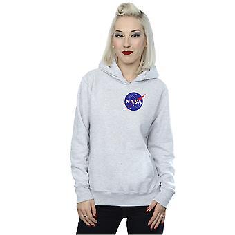 NASA Women's Classic Insignia Chest Logo Hoodie