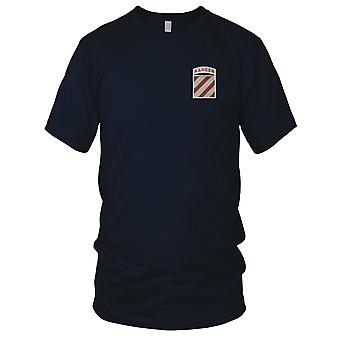 US Army - 3rd Infantry Division Embroidered Patch - Ranger Desert Kids T Shirt