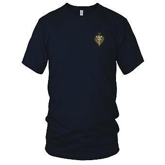 USMC 1st Recon - Hand genähte Vietnamkrieg Abzeichen Patch gestickt - Kinder-T-Shirt