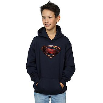 DC Comics pojkar Justice League filmen Superman Emblem Hoodie
